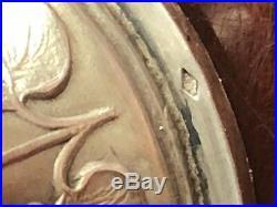 SCEAU SILVER SEAL ARGENT ART NOUVEAU FLEUR AUBEPINE HAWTHORN FRANCE TAMPON 19th