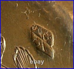 SERVICE A MIGNARDISE ANCIEN en ARGENT MASSIF & VERMEIL MINERVE ART NOUVEAU XIXe