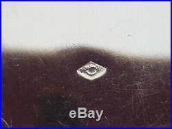 SUCRIER ARGENT MASSIF MINERVE EMPIRE PERLES BOULENGER 10 x 11 CM 200 GR SUPER