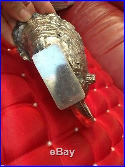 Sauciere métal argenté art nouveau dlg gallia
