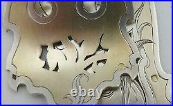 Très beau couvert de service à poisson argent Minerve, Art Nouveau, Edmond Molle