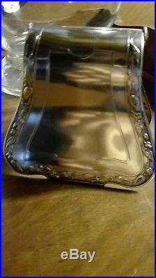 Très grande ménagère métal argenté Art nouveau modèle Cacao de Boulenger