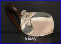 Verseuse en argent massif anse en palissandre Elie Vabre 664 gr ART NOUVEAU 1913
