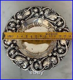 Vide Poche Cendrier Argent Massif Art Nouveau Americain De Gohram No Tiffany